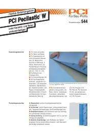 PCI Pecilastic W - Fliesen Lerche