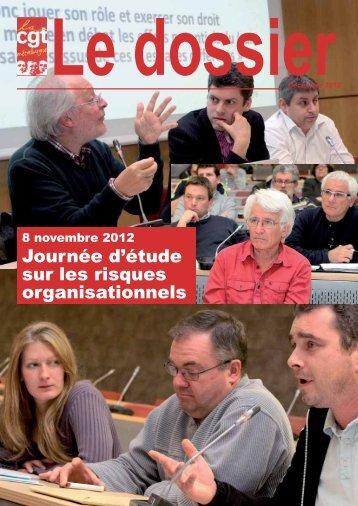 journee d'etude sur les risques organisationnels - Comprendre pour ...