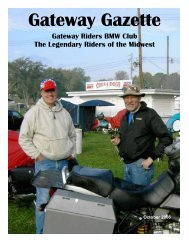 Oct 06 - Gateway Riders Index