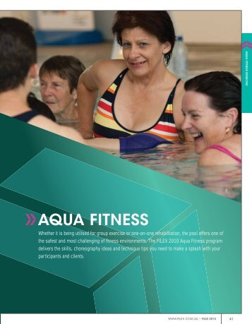 AQUA FITNESS - Australian Fitness Network