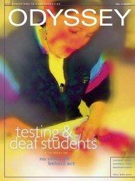 fall/win 2005 laurent clerc national deaf - Gallaudet University