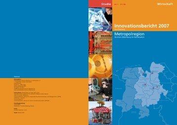 Innovationsbericht 2007 - Metropole Nordwest