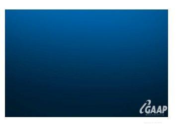 Updated 01/04/2010 - GAAP Software