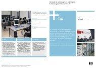 à la pointe de la technologie avec les serveurs HP (PDF 208Ko)