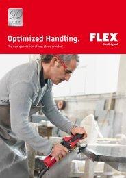 Wet stone grinder - FLEX