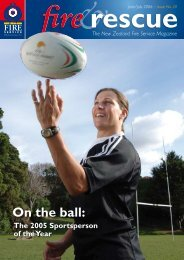 On the ball: - New Zealand Fire Service