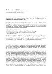 Prof. Dr. med. Beate A. Schücking - Nationales Zentrum Frühe Hilfen