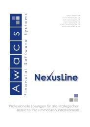 Die Produkte und Dienstleistungen der Nexusline in der
