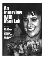An Interview with Mari Loli - Garabandal