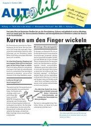 Kurven um den Finger wickeln - AUTOMEISTER