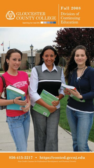 Division Of Continuing Education - Gloucester County College