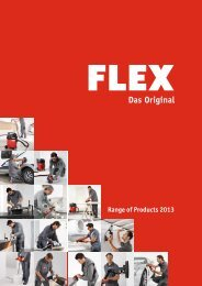 Range of Products 2013 - FLEX