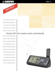 GPS V SpecSht.lyt1 - Garmin