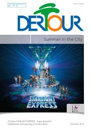 DERTOUR - Summer In The City - Sommer 2013 - First Reisebüro