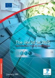 The World in 2025 - Europa