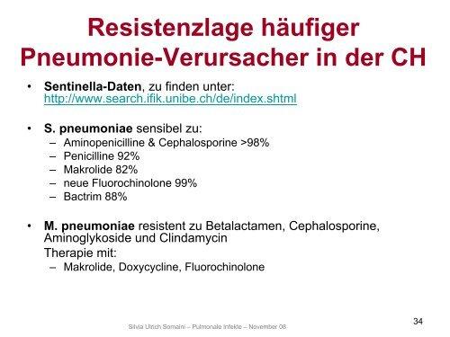 Antibiotische Therapie bei Atemwegsinfektionen - Fortbildung