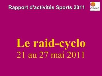 Rapport d'activités Sports 2011 - Site internet de la FNASCE, des ...