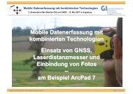 Mobile Datenerfassung mit kombinierten Technologien Einsatz von ...