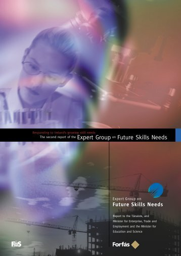 Second Report of the Expert Group on Future Skills Needs - Forfás