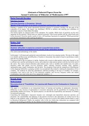 Abstracts of Selected Papers from the Annual Conference of ...