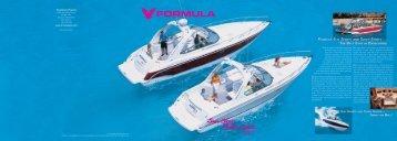 2007 Formula Sun Sport Brochure - Formula Boats