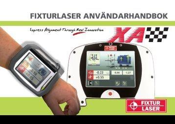 Fixturlaser XA manual