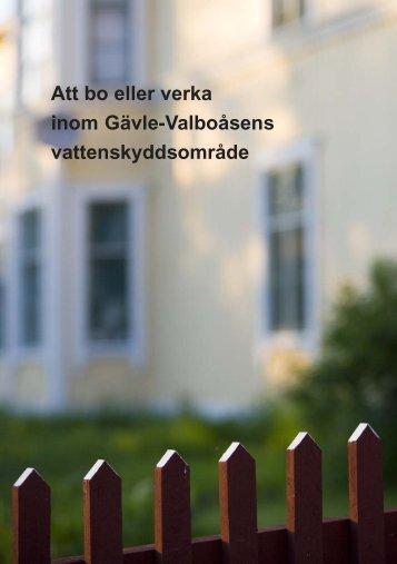 Broschyr - Att bo eller verka inom Gävle ... - Gävle kommun
