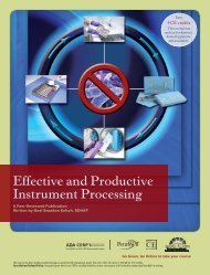 Effective and Productive Instrument Processing - Friends of Hu-Friedy