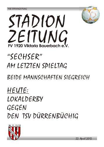 """""""SECHSER"""" - FV Bauerbach"""