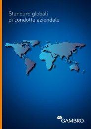 Standard globali di condotta aziendale - Gambro
