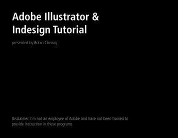 Adobe Illustrator & Indesign Tutorial - UCSF Radiation Oncology ...