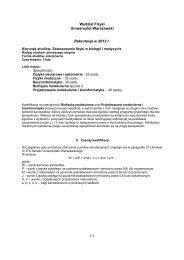 Zastosowania fizyki w biologii i medycynie