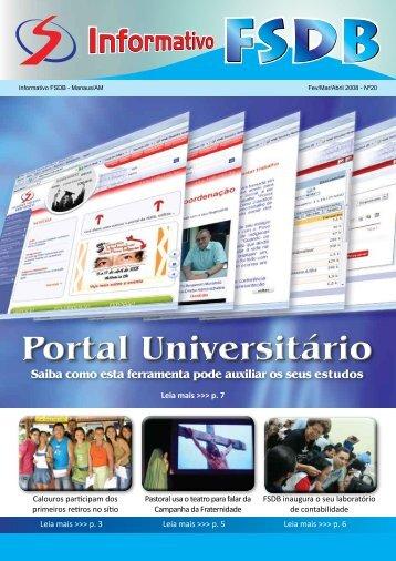 Informativo Nº 20 - Faculdade Salesiana Dom Bosco