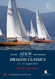 DRAGON CLASSICS - Freundeskreis Klassische Yachten