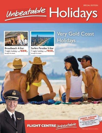 Very Gold Coast Holidays - Flight Centre NZ