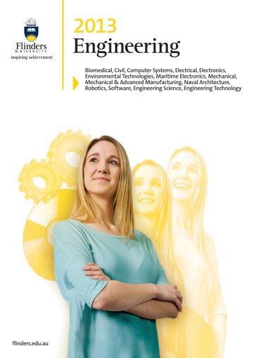 Engineering 2013 - Flinders University