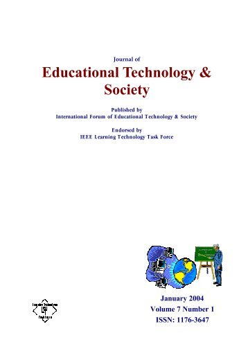 Complete issue in PDF - Educational Technology & Society