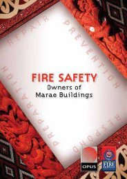 Fire Safety - Owners of Marae Buildings - New Zealand Fire Service