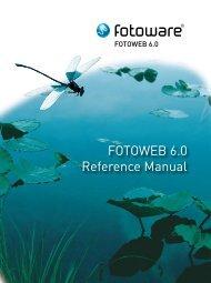 FOTOWEB 6.0 Reference Manual - FotoWare