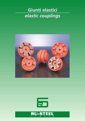 Giunti elastici elastic couplings - FLUITEN-VIKOV, s. r. o.
