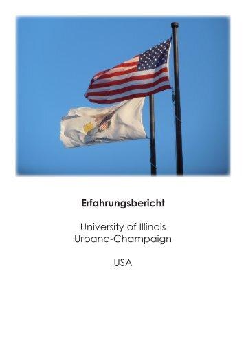 Erfahrungsbericht aus dem Akademischen Jahr 2011/12