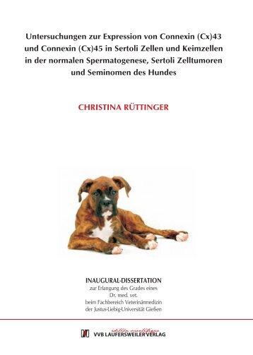 Untersuchungen zur Expression von Connexin - Zur Giessener ...