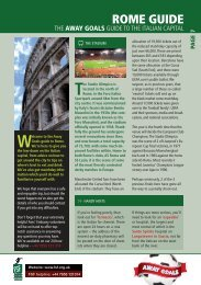 the FSF's Guide to Rome - Football Supporters' Federation