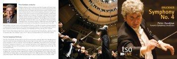 Bruckner Symphony No. 4 - Toronto Symphony Orchestra
