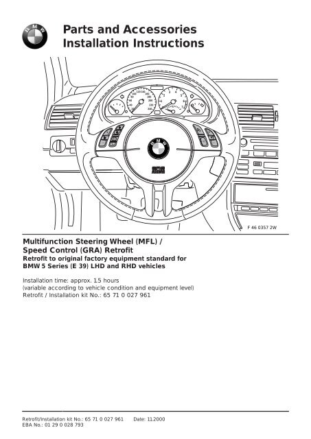 Bmw Cruise Control Diagram