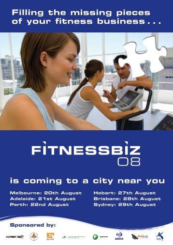 FitnessBiz 08 - Australian Fitness Network