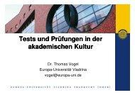 Download Presentation - Fremdsprachenzentrum der Hochschulen ...