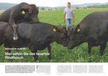 500 Franken für ein Kilo Filet: Hier sehen Sie das teuerste Rindfleisch