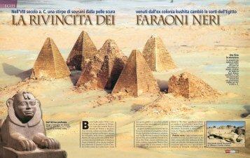 La rivincita dei faraoni neri - Focus