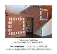 PDF 0,5 MB - Galerie Dorothea van der Koelen